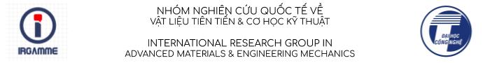 Nhóm nghiên cứu Quốc tế về Vật liệu tiên tiến và Cơ học kỹ thuật Logo